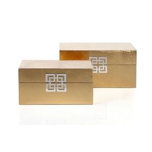 Z Gallerie Ming Lacquer Storage Boxes